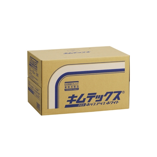 アズワン キムテックス ポップアップタイプ・ホワイト 1箱(150枚×4箱入り) [6-6681-01]