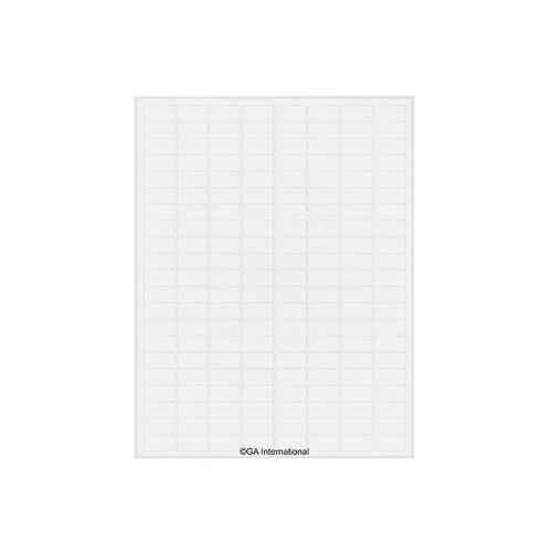 アズワン クライオインクジェットラベル 168ラベル×16シート入 1袋(168ラベル×16シート入り) [3-8726-01]