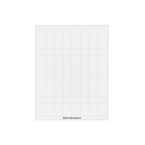 アズワン クライオインクジェットラベル 104ラベル×16シート入 1袋(104ラベル×16シート入り) [3-8726-02]