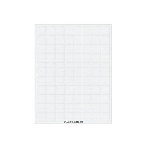 アズワン オートクレーブラベル(レーザープリンタータイプ) 168ラベル×16シート入 1袋(168ラベル×16シート入り) [3-8729-01]