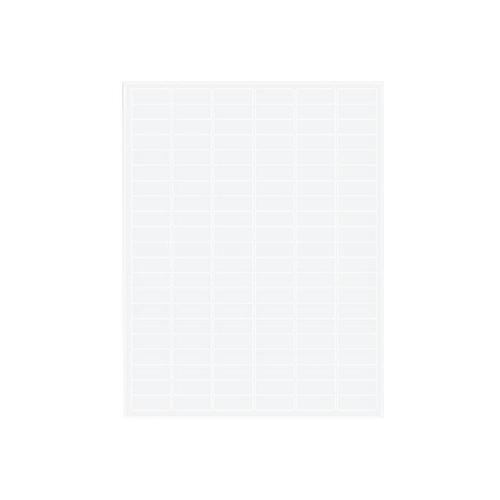 アズワン クライオラベル(レーザープリンタータイプ) 126ラベル×16シート入 1袋(126ラベル×16シート入り) [3-8732-04]