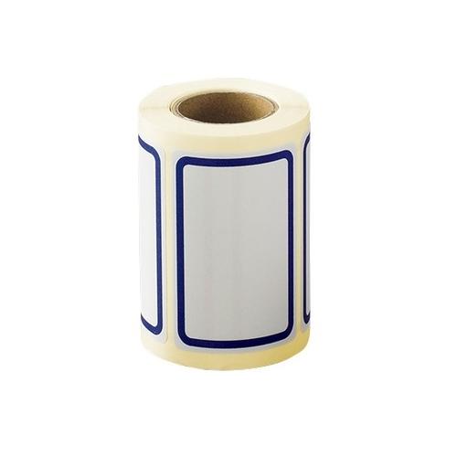 AS ONE 汎用器具 消耗品 お見舞い テープ ラベル 紙製 シール BB-2 青 40×60mm 引出物 アズワン 125枚入 1巻 125枚入り 6-702-02 ボーダーラベル
