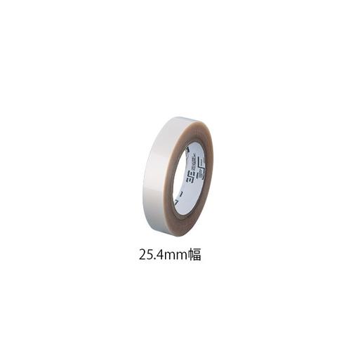 アズワン シリコン両面接着テープ(トランシル) NT1001-36-0100 25.4mm×33m 1巻 [1-6289-02]