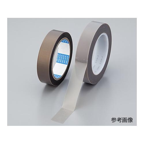 アズワン 耐熱PTFEテープ 0.165mm×25.4mm×33m 1巻 [1-6532-02]
