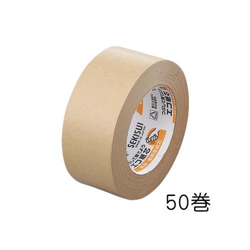 アズワン セキスイ クラフトテープ 50mm×50m×0.14mm 1箱(50巻入) 1箱(50巻入り) [3-1765-51]