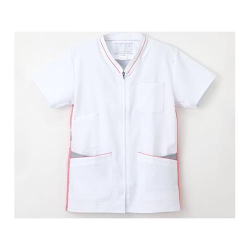 アズワン 男女兼用上衣 L Tピンク FT-4502 P 1枚 [8-6878-04]