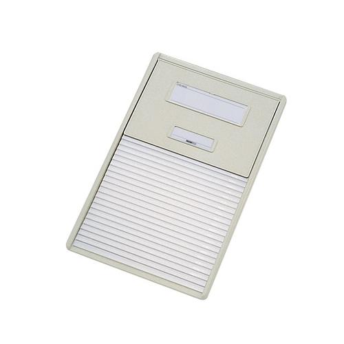 アズワン カードインデックス A4(横1面)20名用 オフホワイト HC112Cオフホワイト 1冊 [0-042-04]