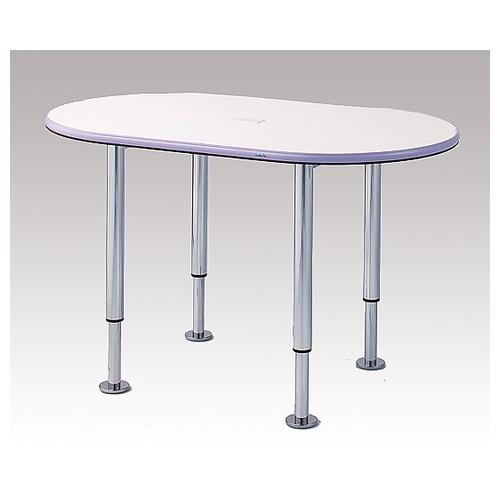 アズワン ナーステーブル(昇降脚タイプ) 2400×1200×700~900mm TNW-2400V-C 1台 [0-5690-14]