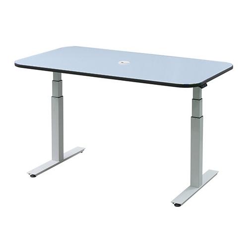 アズワン 電動昇降ナーステーブル ブルー 1200×900×650~1300 DNT1209B 1台 [7-3454-03]