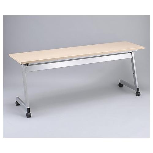 アズワン スタックテーブル レギュラー 1800×600×700mm 木目 KR-Y-1860T 1台 [8-2799-02] [個人宅配送不可]