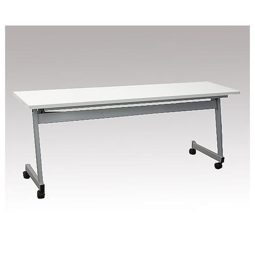 アズワン スタックテーブル レギュラー 1800×450×700mm 白 KR-Y-1845T 1台 [8-3757-01] [個人宅配送不可]