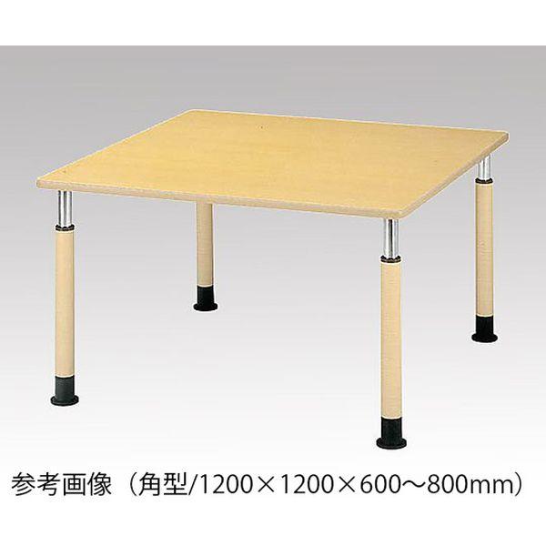 アズワン 昇降式テーブル (角型/1200×1200×600~800mm) FP-1212K 1台 [8-2440-01] [個人宅配送不可]