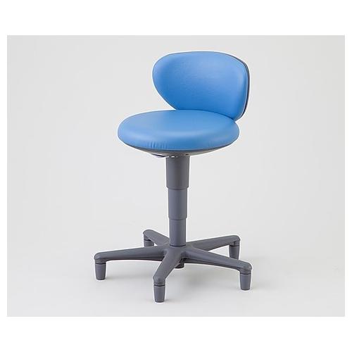 アズワン チェア[ローバック] ステーブル OA-250K(VG1)ブルー 1脚 [8-3924-03]