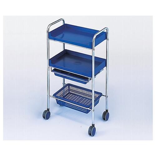 アズワン カラーセット台(C-161) ブルー 485×300×895mm 11613 1台 [0-9225-03]