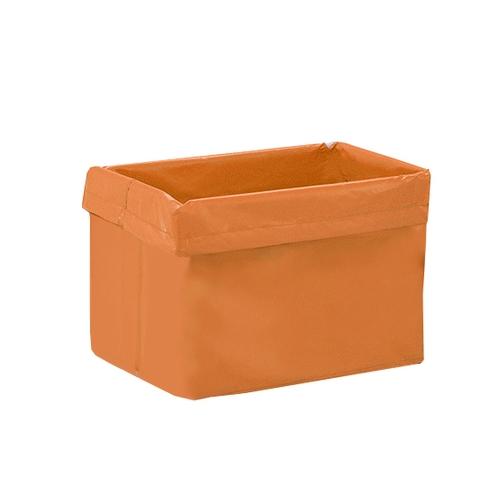 アズワン リネンカート(台車型)交換用袋 ブラッドオレンジ 1枚 [7-3447-13]