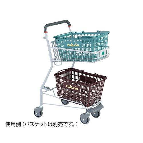 アズワン バスケットカート 小型 1台 [7-4483-01]