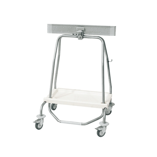 アズワン 足踏み式バッグホルダー 4輪 70L SHUT70 1個 [7-4859-02]