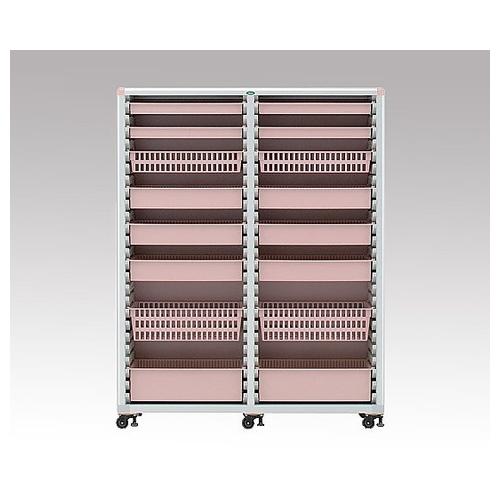 アズワン 材料キャビネット 幅1300mm MR64-A201A PE 1台 [8-4366-02]