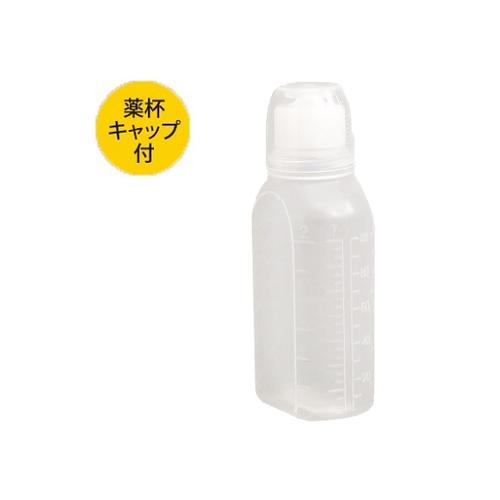 アズワン ハイオール投薬瓶 100mL 100本入 1箱(100本入り) [0-172-03]