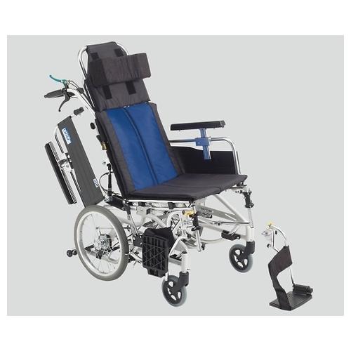 アズワン ティルト&リクライニング車椅子(アルミ製) 介助式 BAL-12 1個 [8-9238-02]
