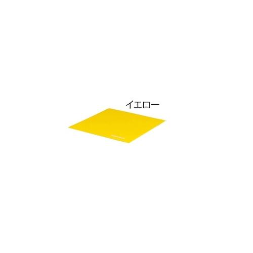 アズワン スポーツ軽量連結マット 600×600×20mm イエロー H-7190Y 1枚 [7-2958-04]