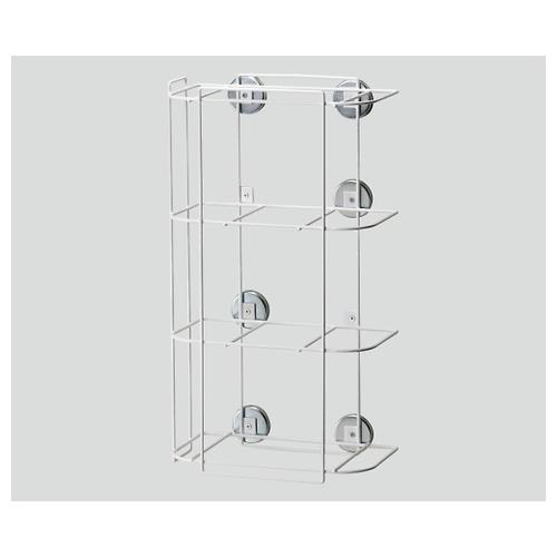アズワン セーフティPPEラック 磁石付けタイプ 270×155×480 004-49105 1個 [8-8267-03]