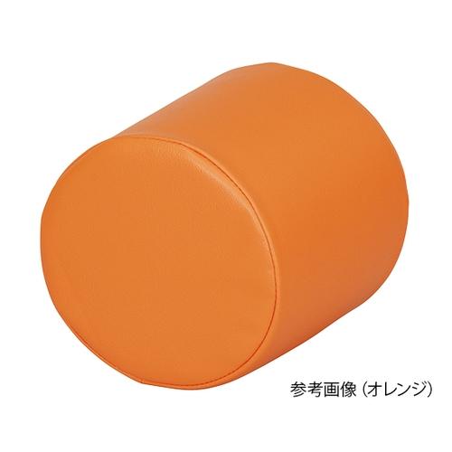 アズワン キッズガーデン クッション・丸 オレンジ 1個 [7-3366-03]