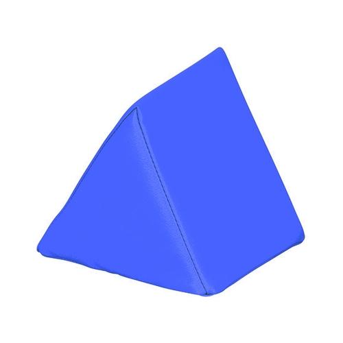 アズワン キッズガーデン クッション・三角 ブルー 1個 [7-3367-01]