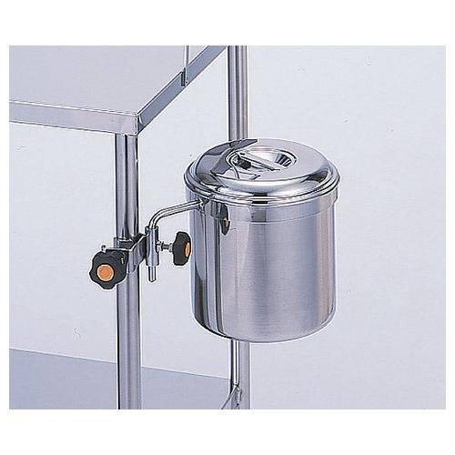 アズワン 汚物缶(受金具) φ160mm 1個 [0-6785-01]