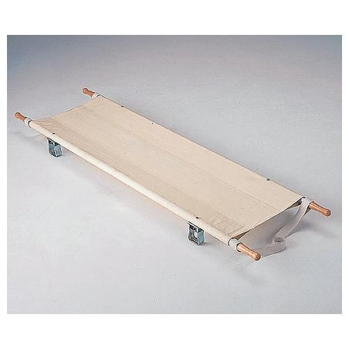 アズワン 二ツ折担架 540×2040mm 7.0kg スチール製 1台 [0-5131-01]