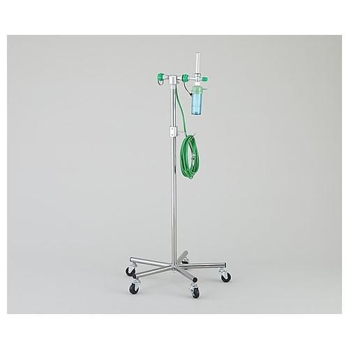 アズワン 酸素スタンド 川重型酸素2個用 OX-W 1台 [8-1250-02]