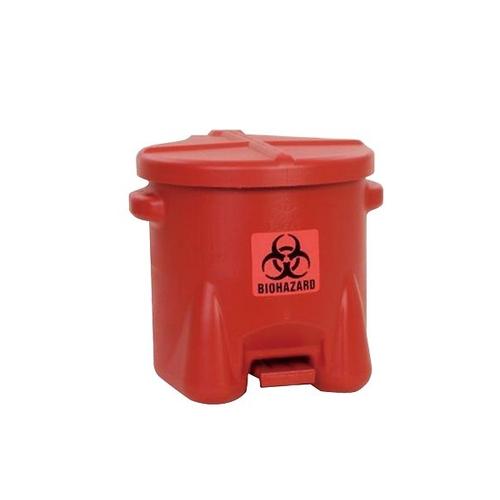 アズワン HDPEバイオハザードゴミ箱 22.8L 1個 [3-9783-01]
