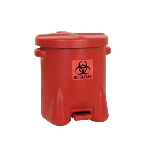 アズワン HDPEバイオハザードゴミ箱 53L 1個 [3-9783-03]