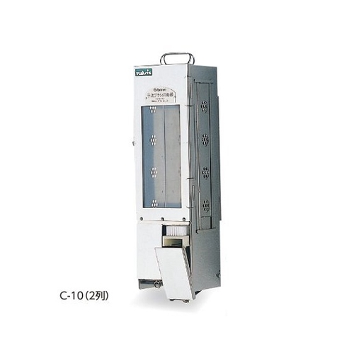 アズワン ブラシ消毒器 C-10(2列用) ブラシ格納庫のみ C-10(2列) 1個 [0-1150-02]