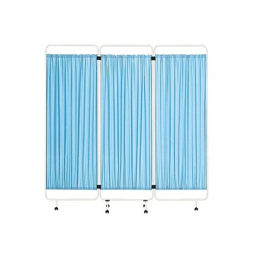 アズワン 衝立 1810×380×1668mm ブルー CW-556 1個 [0-2114-11]