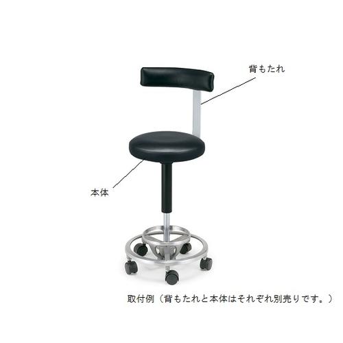 アズワン ドクタースツール DR-009F用 背もたれ DR-SB 1個 [8-3915-11]