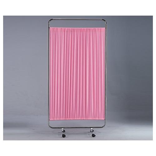 アズワン カラー衝立 連結用 900×1600mm ピンク 1枚 [8-7503-03]