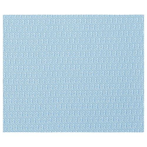 アズワン クロスメディカルスクリーン[抗菌タイプ]二連式(ギヤ連結タイプ) ブルー AMG-632-CL 1組 [8-8482-04]