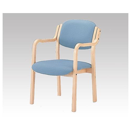 アズワン 椅子 (アイリス) (深型/520×590×800mm/ブルー) IRS-150-V 1脚 [8-1990-02] [個人宅配送不可]