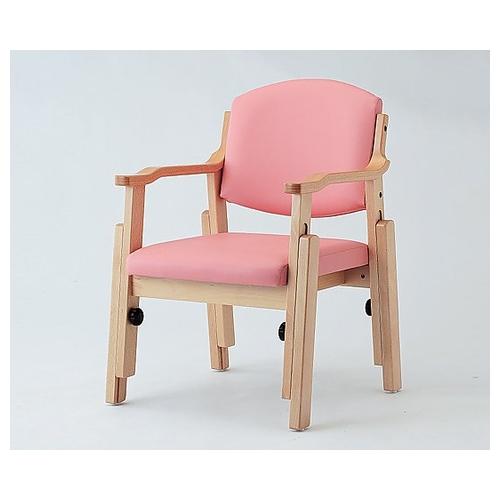アズワン 椅子 (アジャスト) ピンク AJS-150-V 1脚 [8-4487-01] [個人宅配送不可]