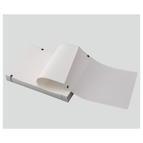 アズワン 心電図用記録紙(折り畳み型) 210mm×295mm×300m CP-623U-300 1冊 [8-7042-05]