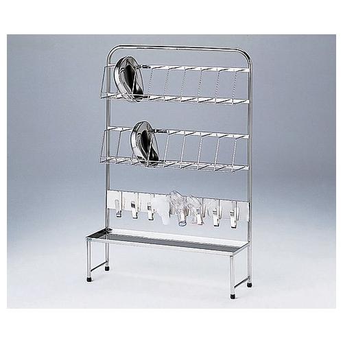 アズワン 便尿器架台 便器×16個+尿器×8個収納可 B 1台 [0-5682-02] [個人宅配送不可]