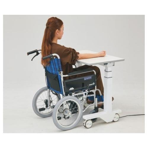 アズワン 電動昇降採血台(車椅子対応) 800×500×638~1288mm ET-800B 1個 [8-6978-01]