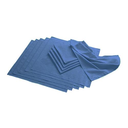 アズワン 1袋(10枚入り) サージカルタオル ネイビー [7-3055-01] STW-B