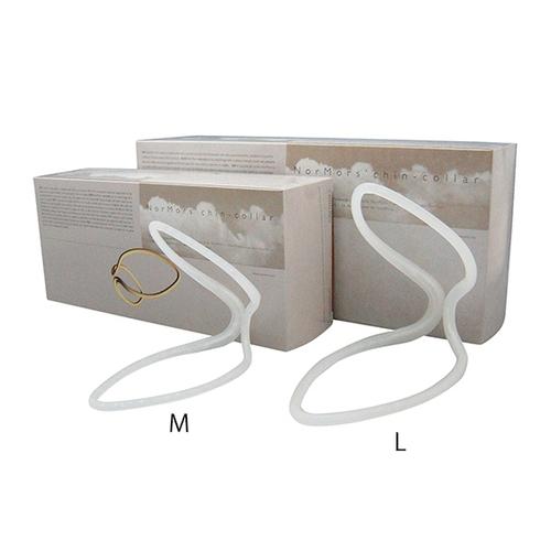 アズワン チンカラー(下顎固定閉口具) Mサイズ 10個入 1箱(10個入り) [7-4077-01]