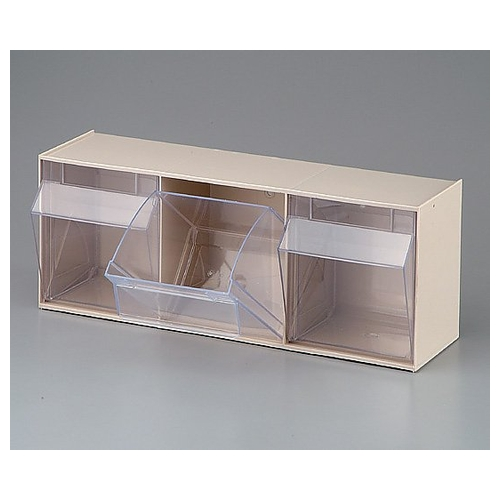 アズワン BOXケース 3BOX 600×168×207mm 920030 1個 [0-6657-01]
