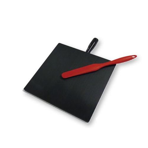 アズワン 樹脂製軟膏板(まぜるん台 黒 大) HN-300B 1枚 [8-7350-06]