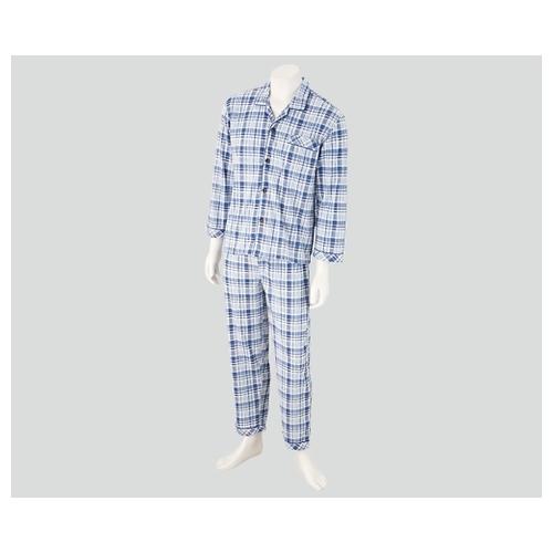 アズワン 入院セット 男性用パジャマ LL 38013-03 1組 [8-9064-04]