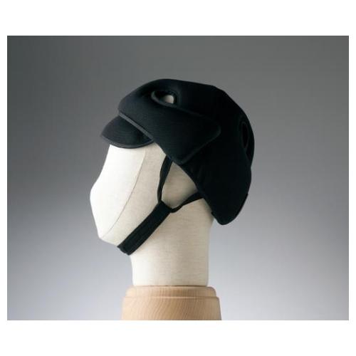 アズワン 保護帽[アボネットガードD]普通サイズ ブラック 2007 1個 [8-6513-04]
