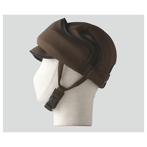 アズワン 保護帽[アボネットガードE]M-L ブラウン 2100 1個 [8-6559-03]